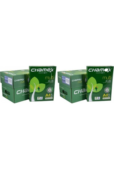 Chamex A4 Fotokopi Kağıdı 80Gr 2 Koli 10 Paket 5000 Sayfa
