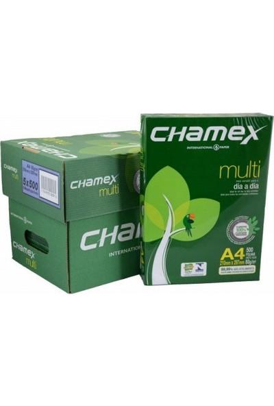 Chamex A4 Fotokopi Kağıdı 80Gr 1 Koli 5 Paket 2500 Sayfa
