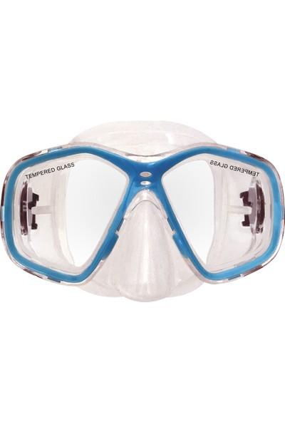 Amphıbıan Pro Resort Set (Maske + Şnokel + Çanta)
