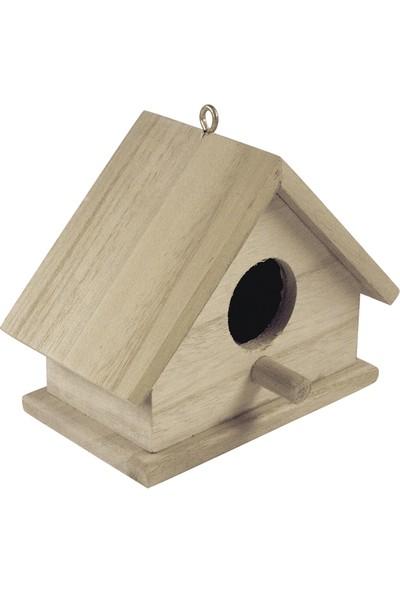 Rayher Ahşap Kuş Yuvası 13.5x7.5x10cm
