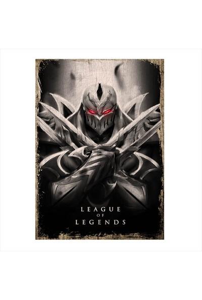 Tablomega Ahşap Tablo League Of Legends