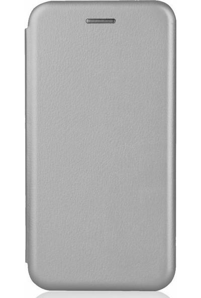 Sonmodashop Xiaomi Redmi Note 4 Flip Cover Mıknatıs Kapaklı Kılıf + Ekran Koruyucu Cam