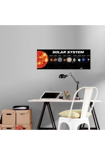 Artikel Güneş Sistemi-2 Duvar Sticker