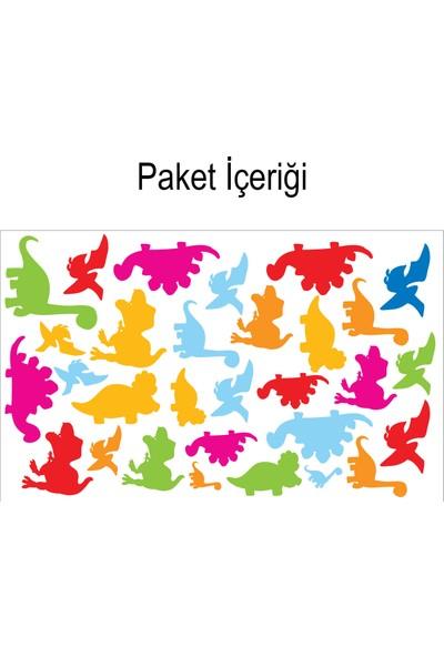 Artikel Dinazorlar 148x88 cm Duvar Sticker