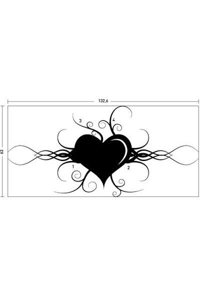 Artikel Belove Kadife Duvar Sticker 132,6X63