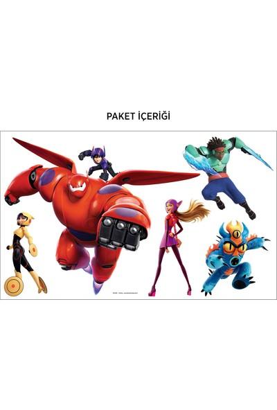 Artikel 6 Süper Kahraman 115x77 cm Duvar Sticker