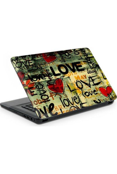 Artikel Love Art Notebook Sticker