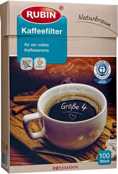 Rubin Büyük Boy Kahve Filtresi (Naturel)