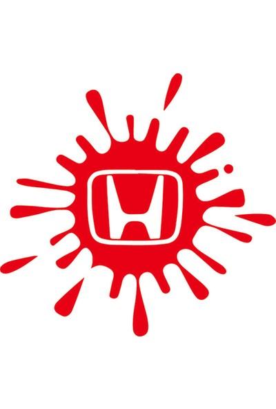 Smoke Honda Leke Sticker