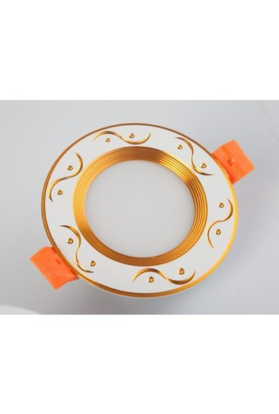 Odalight Gold Panel Led 5W (5 Adet)