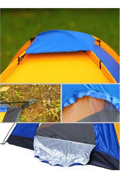 Gringo 4 Kişilik Kaliteli Kamp Çadırı 200x200x135 cm