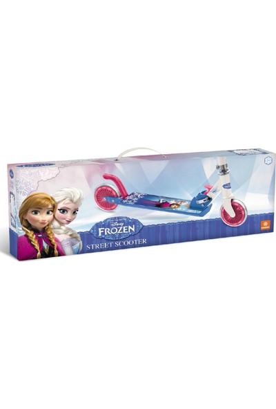 Frozen İki Tekerli Frenli Scooter