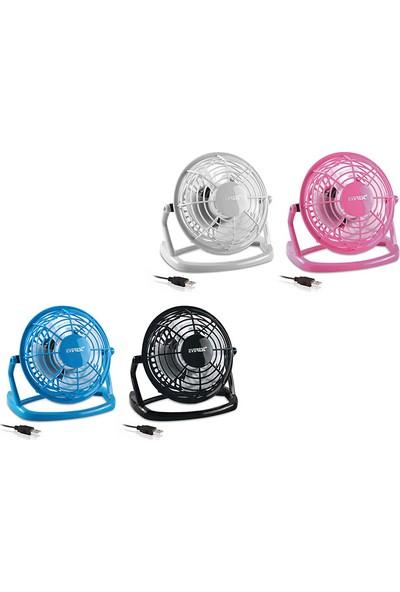 Everest EFN-488 Karışık Renkli Plastik USB Fan