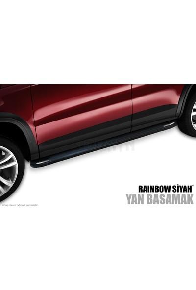 S-Dizayn Chrysler Grand Cherokee Yan Basamak Rainbow Siyah 2011 Üzeri