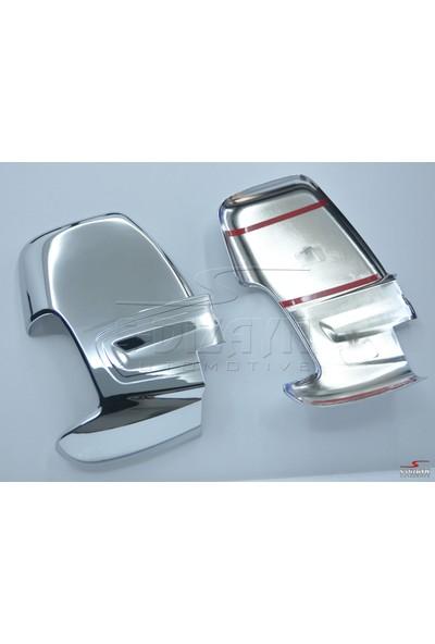 S-Dizayn Ford Transit Ayna Kapağı 2 Prç. Abs. Krom 2014 Üzeri