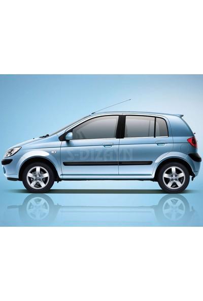 S-Dizayn Hyundai Getz Krom Cam Çıtası 6 Prç 2002-2011