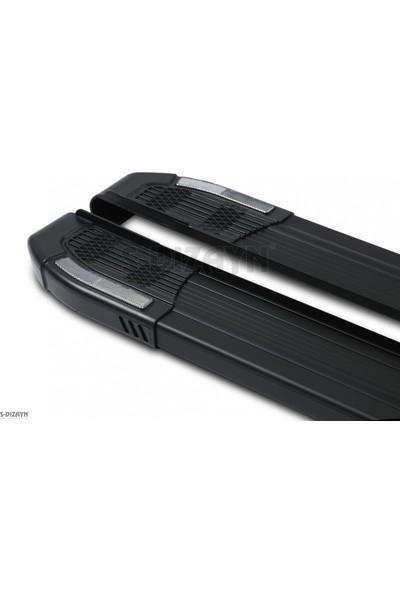 S-Dizayn Mercedes Sprinter Uzun Yan Basamak Rainbow Siyah 2006 Üzeri