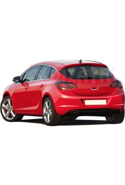 S-Dizayn Opel Astra J HB Krom Bagaj Açma 2010 Üzeri