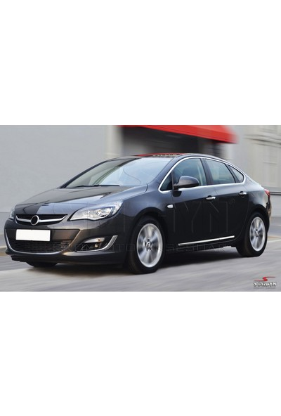 S-Dizayn Opel Astra J SD Kapı Koruma Çıtası Krom 2012 Üzeri