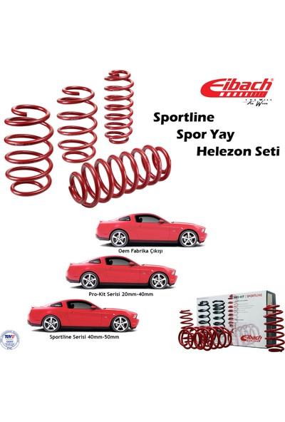 Eibach Seat Leon I 1999-2005 Spor Yay Helezon Sportline-Ön 45/50, Arka 30 mm