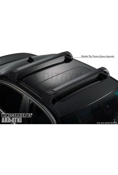 S-Dizayn Universal 110 Cm Ara Atkı Wingcarrier V3 Siyah