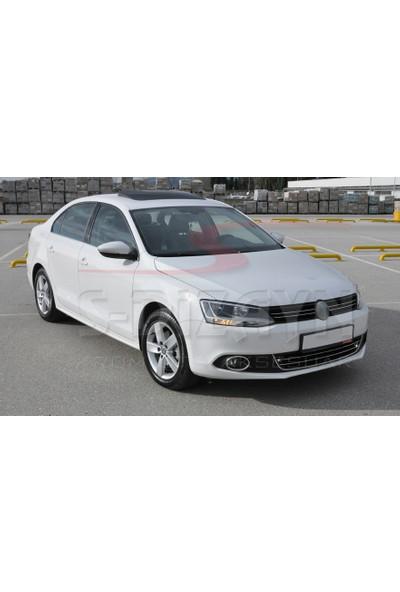 S-Dizayn VW Jetta Krom Ön Tampon Çıta 2 Prç 2011-2014