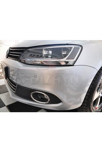 S-Dizayn VW Jetta Krom Sis Farı Çerçevesi 2 Prç 2011-2014