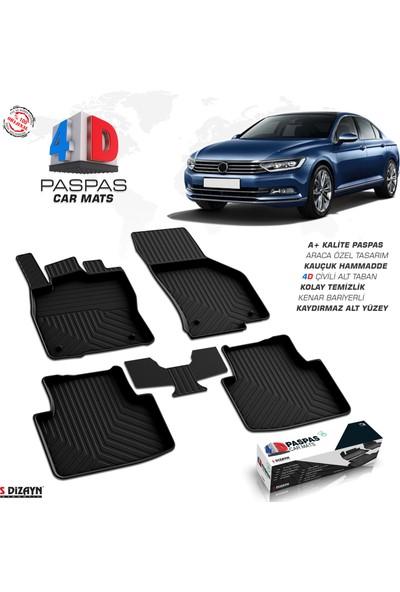 S-Dizayn S-Dizayn VW Passat B8 4D Havuzlu Paspas 2015 ve Üzeri A+Kalite