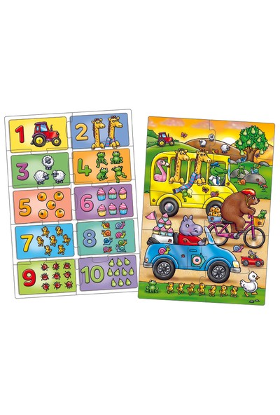 Orchard Toys Look And Find Number 3 Yaş+ Puzzle 331