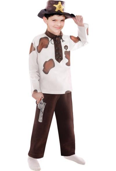 Oulabimir Kovboy Baskılı Çocuk Kıyafeti