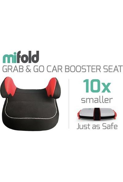 Mifold Grab And Go Portatif Yeni Nesil Oto Koltuğu 15 - 36 kg Slate Gray