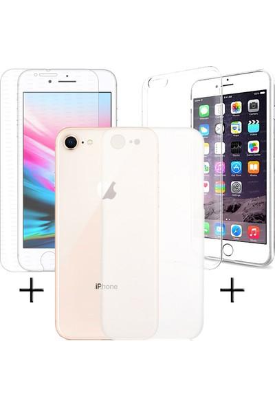 Dark iPhone 8 Plus Kılıf ve Ekran Koruyucu Paketi (DK-AC-CPI8PPK)