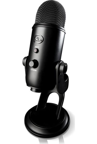 Blue Yeti Usb Microphone Blackout Siyah Mikrofon