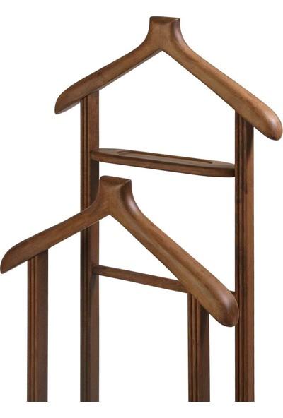 Sandalye Keyfi Çift Tepeli Dilsiz Uşak Ceviz Cila