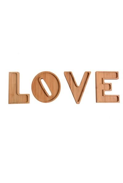 Deco Bambu Love Çerezlik