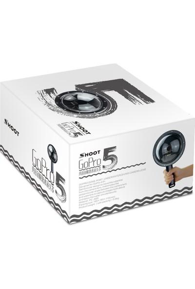 Orjinal Shoot XTGP376 Hero 5 Aksiyon Kamera Dome Port Şamandıra Aparat