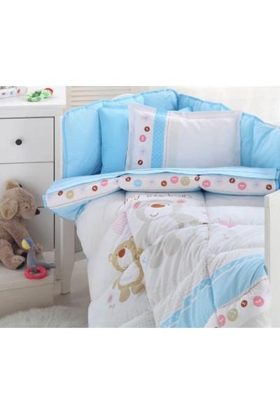 Özdilek Bebek Uyku Seti Baby Bear Turkuaz