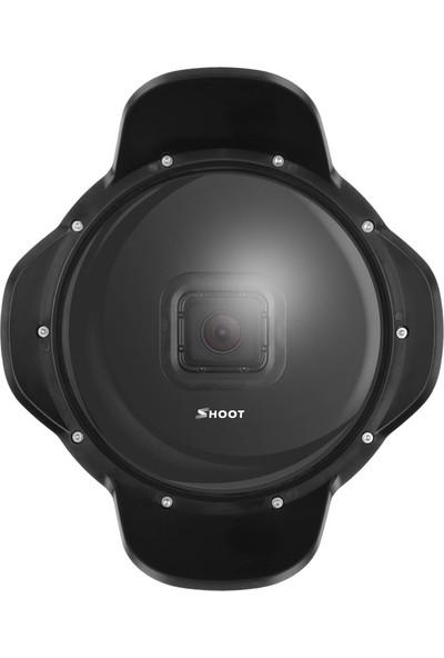 Orjinal Shoot XTGP376B Parasoley 2.0 Hero 5 Aksiyon Kamera Dome Port