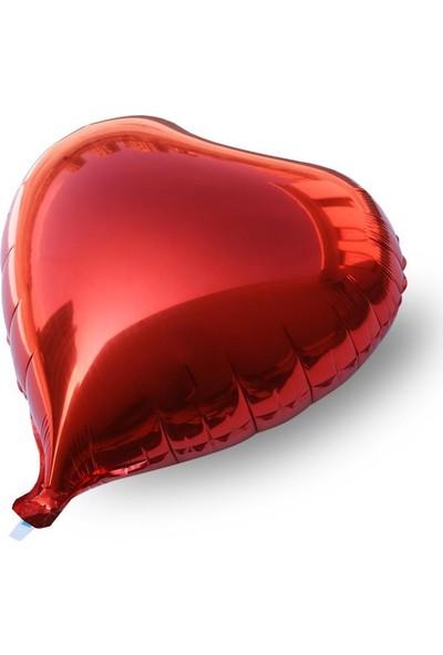 ORCKırmızı Kalp Folyo Balon
