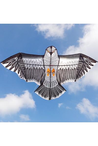 Hepsilazım Fiberglass 3D Kartal Eagle Kuş Desenli Uçurtma 180 cm