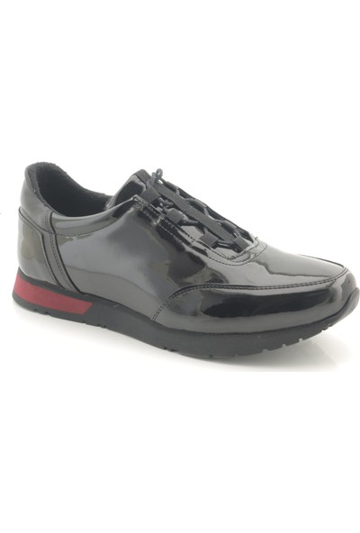 Man 32002 Siyah Rugan Casual Erkek Spor Ayakkabı