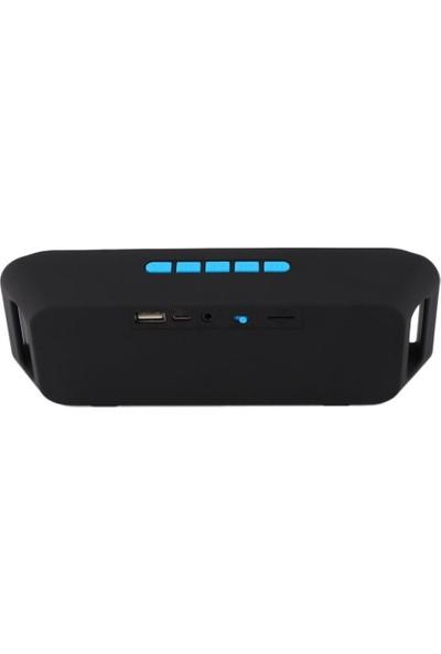 CresCent Bluetooth Hoparlör SD Card FM Radyo USB AUX Stereo Speaker