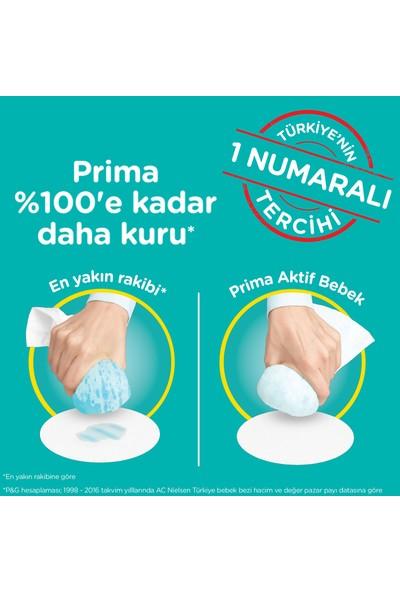 Prima Bebek Bezi Aktif Bebek 5 Beden Junior Aylık Fırsat Paketi 150 x 2 (300 Adet)