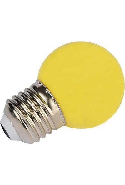 Maxima G45 2-15W Led Renkli Gece Lambası Sarı Işık
