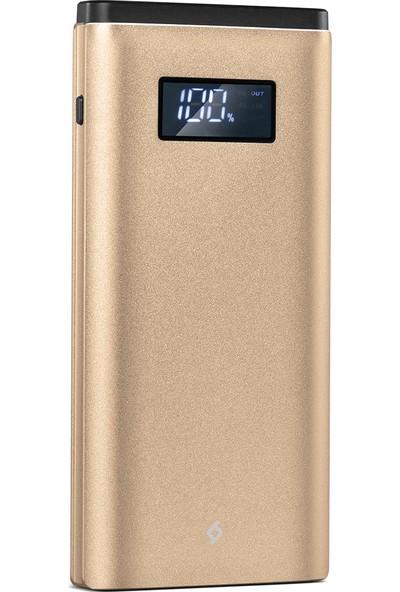 Ttec AlumiSlim LCD QC 3.0 10000mAh Taşınabilir Şarj Aleti