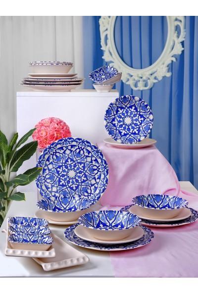 Keramika Osmanlı Yemek Takımı 24 Parça 6 Kişilik 17667