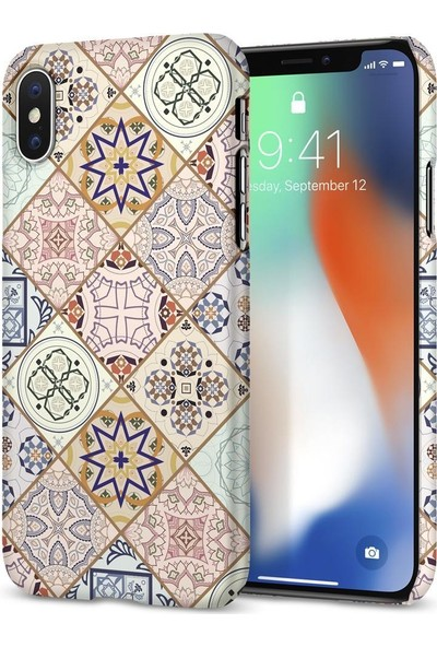 Spigen Apple iPhone XS / iPhone X Kılıf Thin Fit Design Edition Arabesque - 057CS22624
