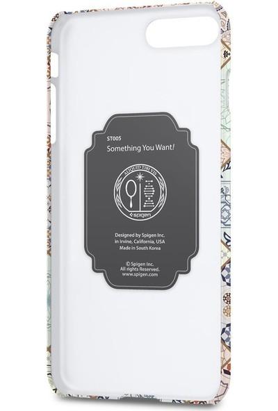 Spigen Apple iPhone 8 Plus - iPhone 7 Plus Kılıf Thin Fit Design Edition Arabesque - 055CS22622