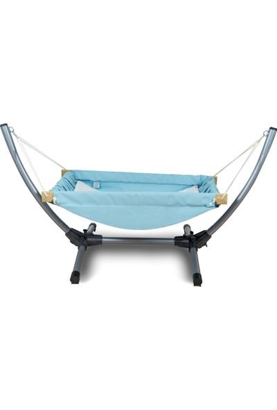 Bliss Metal Standlı Bebek Hamağı - Hamak Beşik Mavi