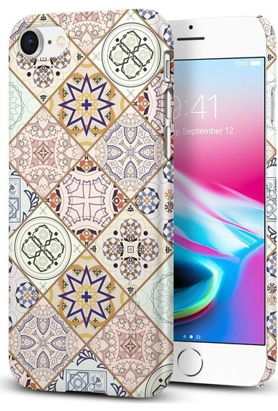 Spigen Apple iPhone 8 - iPhone 7 Kılıf Thin Fit Design Edition Arabesque - 054CS22620